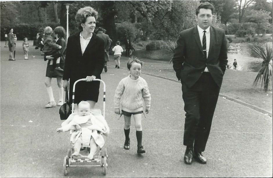The family at Dublin Zoo, 1969